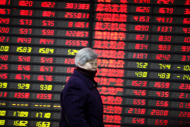 Chinese shares open lower on Tue.