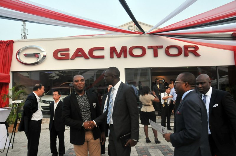 Chinas auto maker opens showroom in Nigeria