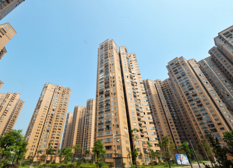 Chinas home prices continue to cool, declines narrowing