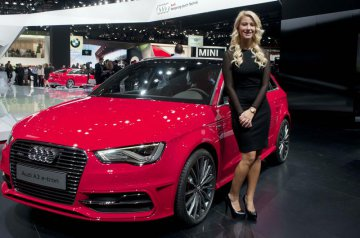 Chinese brands step up market at Shanghai Auto Show