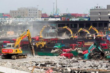 12 suspects arrested for Tianjin blasts