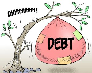 What does RMB16 trln quota of local government debt mean