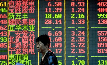 Chinese shares retreat on Thu. on thinner turnover on profit taking