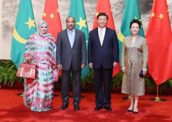 Chinese president vows stronger ties with Mauritania