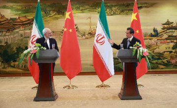 "China, Iran consider lifting ties to ""strategic partnership"""
