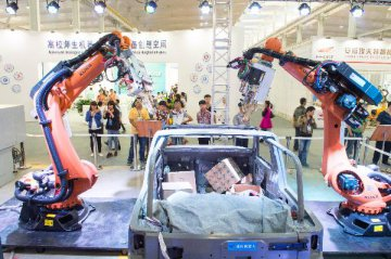 China becomes worlds largest robot producer for two consecutive years