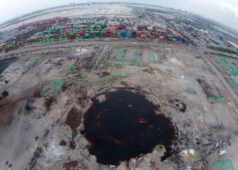 Tianjin to implement 24-hour monitoring at dangerous chemicals sites