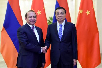 China, Armenia vow to deepen industrial capacity cooperation