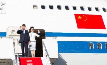 Chinese president lands in Seattle, kicking off U.S. state visit