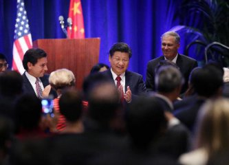 Chinese president reassures U.S. business leaders on economy