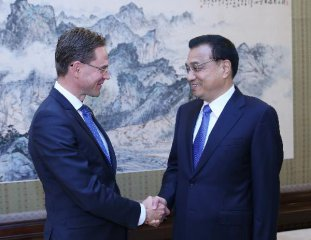 Premier Li urges negotiations on China-EU joint investment fund
