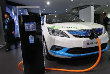 China to speed up construction of charging facilities