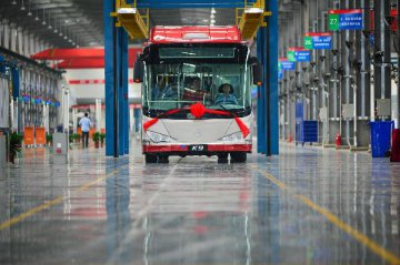 China to deliver 500 new-energy buses to Thailand