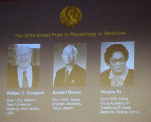 Cheers, hopes as Chinese pharmacologist wins landmark Nobel prize