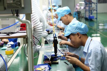 Chinas trade in electronic information products slows