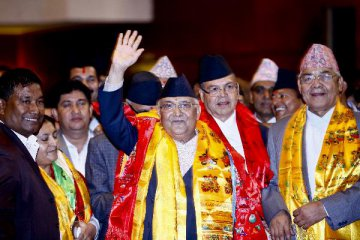 China congratulates Nepals new PM