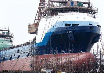 Jiangsus shipbuilding industry sees drop in new orders