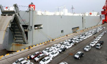 Chinas auto exports down 15.3pct in Jan.-Sept., customs