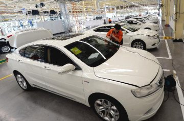 China Jan.-Sept. auto exports down 16.5pct y-o-y at 553,600 units, CAAM