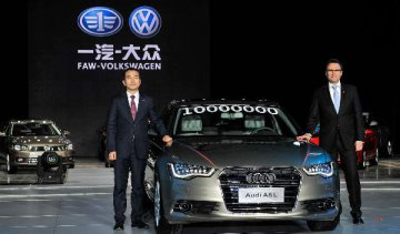 German carmakers in China lower performance targets