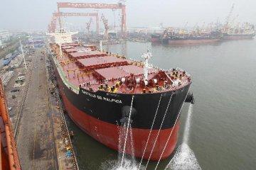 China Q1-3 new ship order down 65pct on yr, MIIT