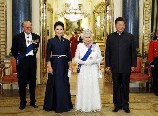 Chinas Xi on UK red carpet in visit for golden era of ties