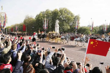 British royal welcome for Chinese president highlights China-UK partnership