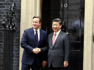 "China, Britain lift partnership to ""global"" level"