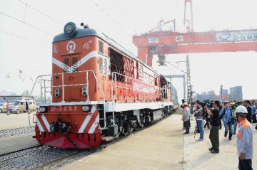 China-Europe cargo train sees rapid trade growth