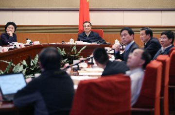 Chinese Premier stresses reforms, restructuring