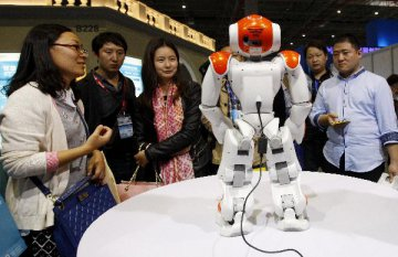Over 30 robot industrial parks, bases to be established in China