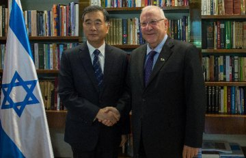 Israeli president calls for closer economic cooperation with China