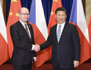 Chinese, Czech leaders see more chances in Belt and Road Initiative