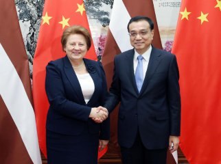 China ready for port, railway cooperation with Latvia