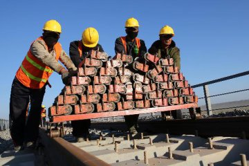 China invest no less than RMB2.8 trln in railway construction in 2016-2020