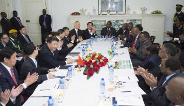 Xi vows to push China-S.Africa ties to new heights