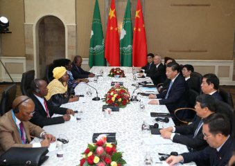 Xi pledges support for AUs role in regional, global affairs