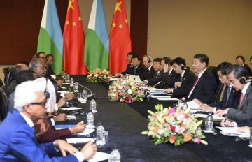 China welcomes Djiboutis participation in developing Maritime Silk Road