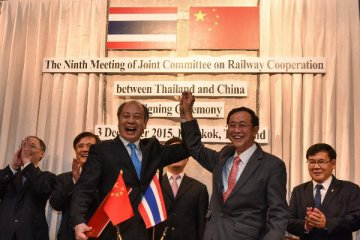 China, Thailand ink intergovernmental document on railway project