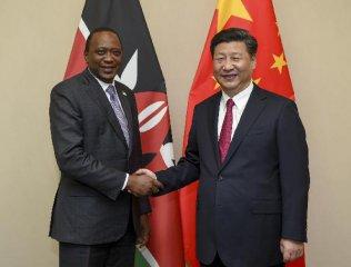 China, Kenya pledge to push ties to higher level