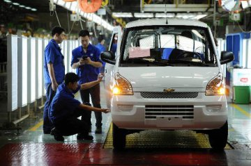 SAIC-GM-Wuling sells 200,428 cars in Nov.