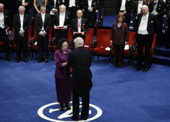 Chinas Tu Youyou receives 2015 Nobel Prize in Physiology or Medicine