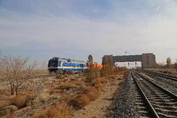 Georgia welcomes first Silk Road cargo train from China