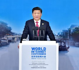 China aims to ensure Internet development benefits all: Xi