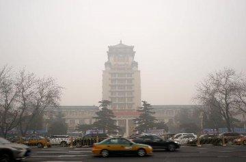 Christmas smog hits Beijing