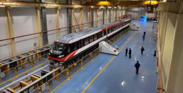 Maglev on trial run in central China