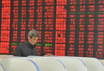 Chinese shares surge over 3 percent