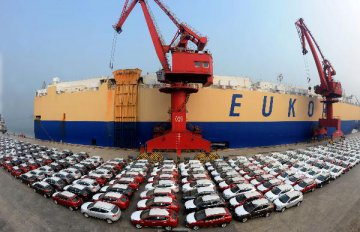China auto sales growth at 3-year low in 2015