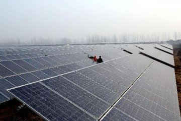 China ranks first worldwide in PV power capacity