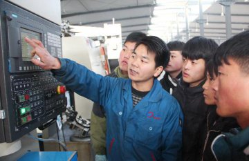 Government spending on vocational education increases